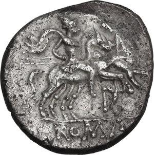 reverse: D series. AR Denarius, 199-170 BC