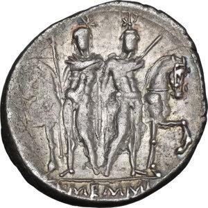 reverse: L. Memmius. AR Denarius, 109-108 BC