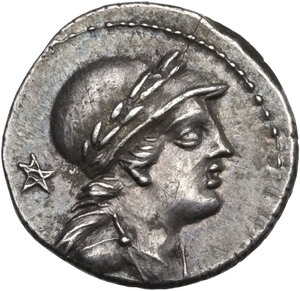 M. Volteius M.f. AR Denarius, 78 BC