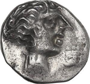 obverse: Cisalpine Gaul, the Ligures. AR Drachm, imitating Massalia, 2nd century BC