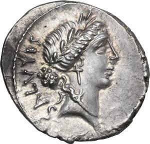 obverse: Man. Acilius Glabrio. AR Denarius, 49 BC