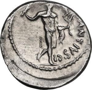 reverse: C. Antius C.f. Restio. AR Denarius, 47 BC