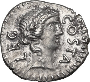 obverse: Brutus. AR Denarius, late summer-autumn 42 BC. Military mint traveling with Brutus and Cassius in Western Asia Minor or Northern Greece. Pedanius Costa, legate