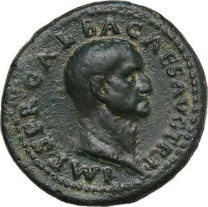 obverse: Galba (68-69). AE As, Rome mint