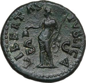 reverse: Galba (68-69). AE As, Rome mint