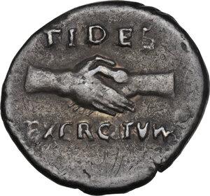 reverse: Vitellius (69 AD). AR Denarius