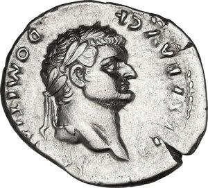 obverse: Domitian as Caesar (69-79). AR Denarius. Struck under Vespasian, 77-78