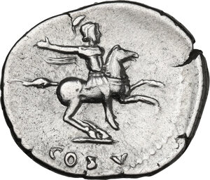 reverse: Domitian as Caesar (69-79). AR Denarius. Struck under Vespasian, 77-78