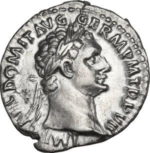obverse: Domitian (81-96). AR Denarius, 88 AD