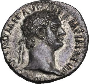 obverse: Domitian (81-96). AR Denarius, 90 AD