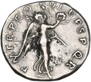reverse: Trajan (98-117). AR Quinarius, Rome mint, 112-115 AD