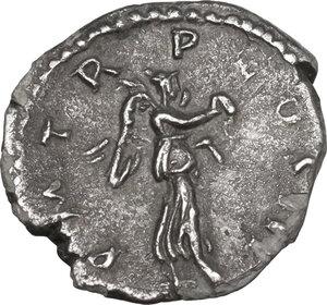 reverse: Hadrian (117-138). AR Quinarius, 119-122 AD