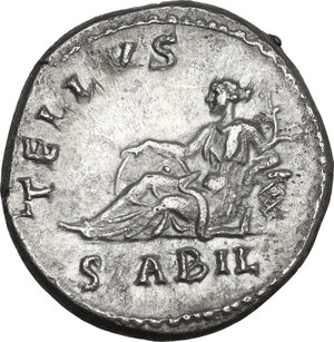 reverse: Hadrian (117-138). AR Denarius, 134-138