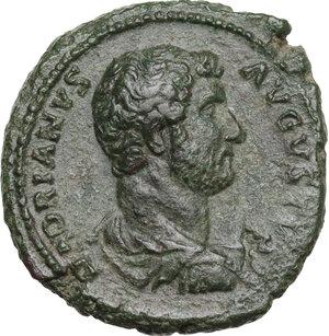 obverse: Hadrian (117-138). AE As, 132-134 AD