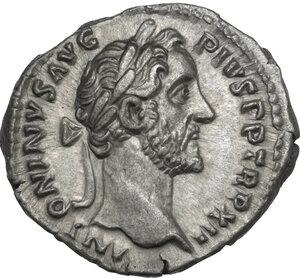 obverse: Antoninus Pius (138-161). AR Denarius,148-149 AD