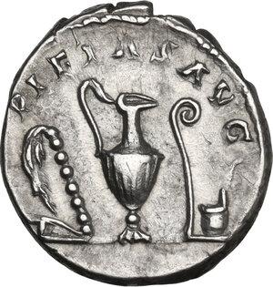 reverse: Marcus Aurelius (161-180). AR Denarius, 140-144