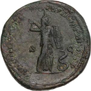 reverse: Commodus (177-192). AE Sestertius, 177 AD