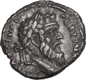 obverse: Pertinax (193 AD). AR Denarius, Rome mint