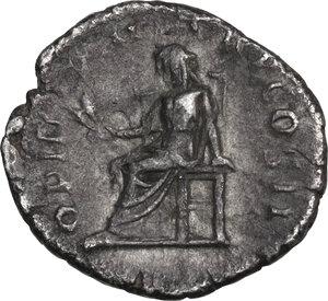 reverse: Pertinax (193 AD). AR Denarius, Rome mint