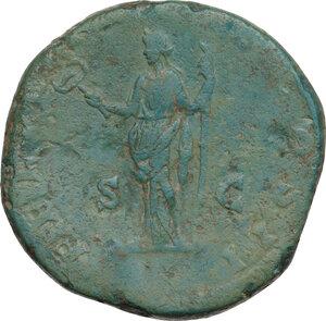 reverse: Clodius Albinus as Caesar (193-195). AE Sestertius. Struck under Septimius Severus, 194-5 AD