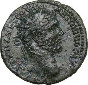 obverse: Caracalla (198-217). AE Medallion. Perinthus mint