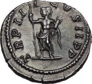 reverse: Geta (198-212). AR Denarius, 211 AD