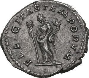 reverse: Macrinus (217-218). AR Denarius, 218 AD