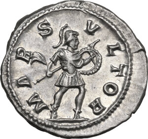 reverse: Severus Alexander (222-235 AD). AR Denarius, 231-235 AD
