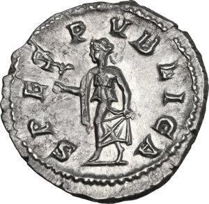 reverse: Severus Alexander (222-235). AR Denarius