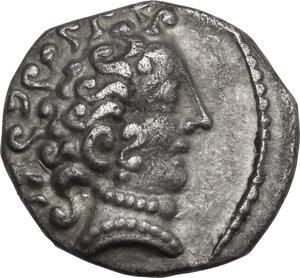 obverse: Cisalpine Gaul, the Po Valley. AR Drachm, imitating Massalia, 2nd century BC