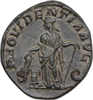 reverse: Severus Alexander (222-235). AE Sestertius