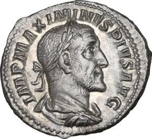 obverse: Maximinus I (235-238). AR Denarius, Rome mint, 236 AD