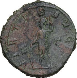 reverse: Gordian I Africanus (238 AD). AE Sestertius