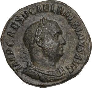 obverse: Balbinus (238 AD). AE Sestertius, Rome mint