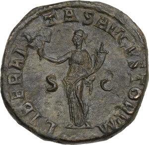 reverse: Balbinus (238 AD). AE Sestertius, Rome mint