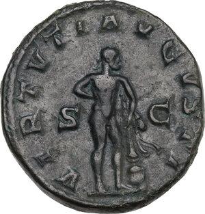 reverse: Gordian III (238-244 ). AE Dupondius