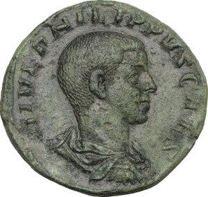 obverse: Philip II (246-249). AE Sestertius, 246 AD