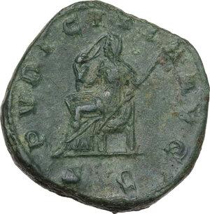 reverse: Etruscilla, wife of Trajan Decius (249-251). AE Sestertius
