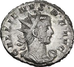 obverse: Gallienus (253-268). BI Antoninianus, Cologne mint, 257-258 AD