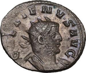 obverse: Gallienus (253-268). BI Antoninianus, Mediolanum mint, 260-261 AD
