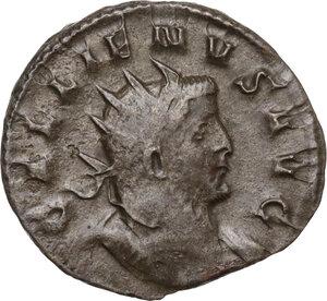 obverse: Gallienus (253-268). BI Antoninianus, Mediolanum mint, 260-262 AD