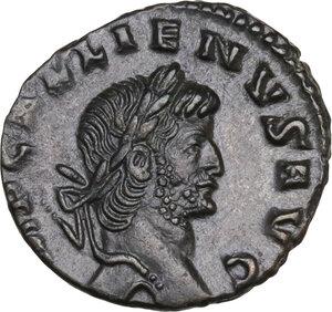 obverse: Gallienus (253-268). AE Denarius, Rome mint, 264-267 AD