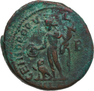 reverse: Domitius Domitianus (Usurper, 297-298). AE Follis, Alexandria mint