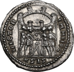 reverse: Maximianus (286-310). AR Argenteus. Siscia mint, 295 AD