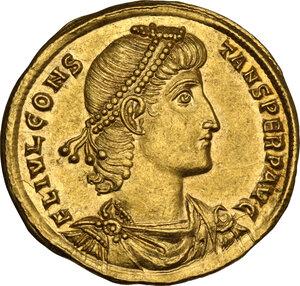 obverse: Constans (337-350). AV Solidus. Antioch mint, 337-347 AD