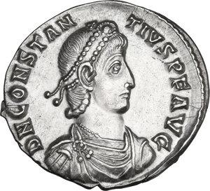 obverse: Constantius II (337-361). AR Siliqua. Sirmium mint, 351-355