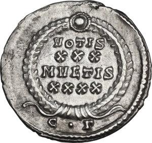 reverse: Constantius II (337-361). AR Siliqua, Constantinople mint