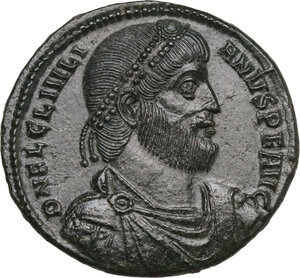 obverse: Julian II (361-363). AE 29 mm. Thessalonica mint, 361-363 AD