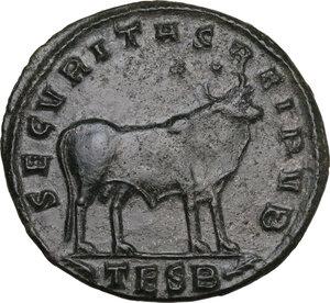 reverse: Julian II (361-363). AE 29 mm. Thessalonica mint, 361-363 AD