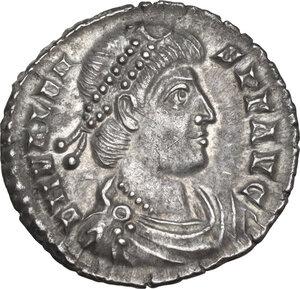 obverse: Valens (364-378). AR Siliqua, Treveri mint